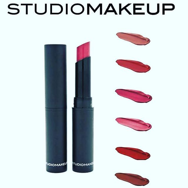 Velour Lipstick from STUDIOMAKEUP Rich, matte lip look without feeling dry or cracked.  #studiomakeup #makeup #cosmetics #lips #highpigmented #longlasting #velourlipstick