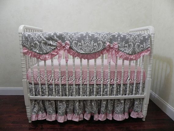 1000 Ideas About Baby Crib Bumpers On Pinterest Rail