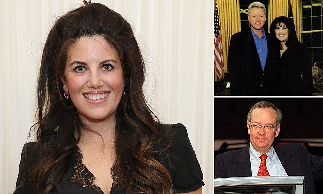 Monica Lewinsky labels Bill Clinton a sexual predator