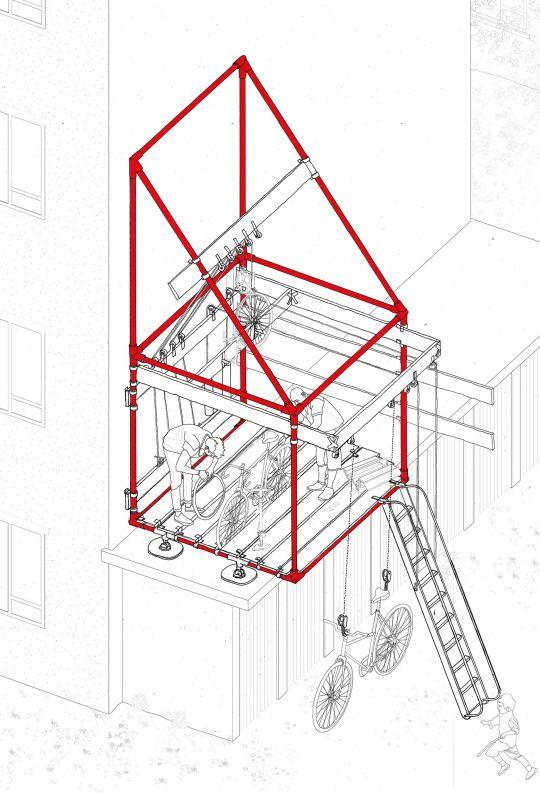 BARTLETT UG 1 the LIVING LABORATORY, Oliver Parkinson, Year 3, Bartlett School of Architecture UG1 2014/2015 Tutors: Sabine Storp + Patrick Weber