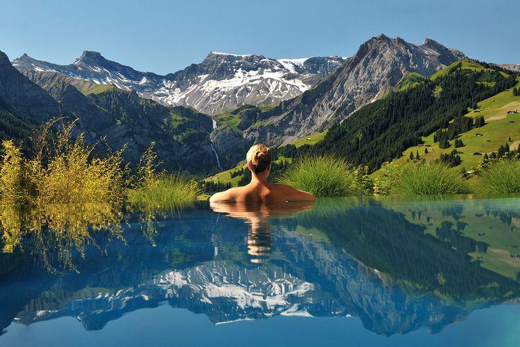 Hôtel Cambrian, Suisse | 24 piscines incroyables à voir avant de mourir