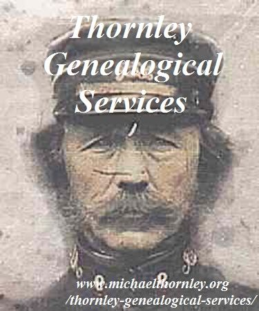 Family Tree Research- Thornley Genealogical Services