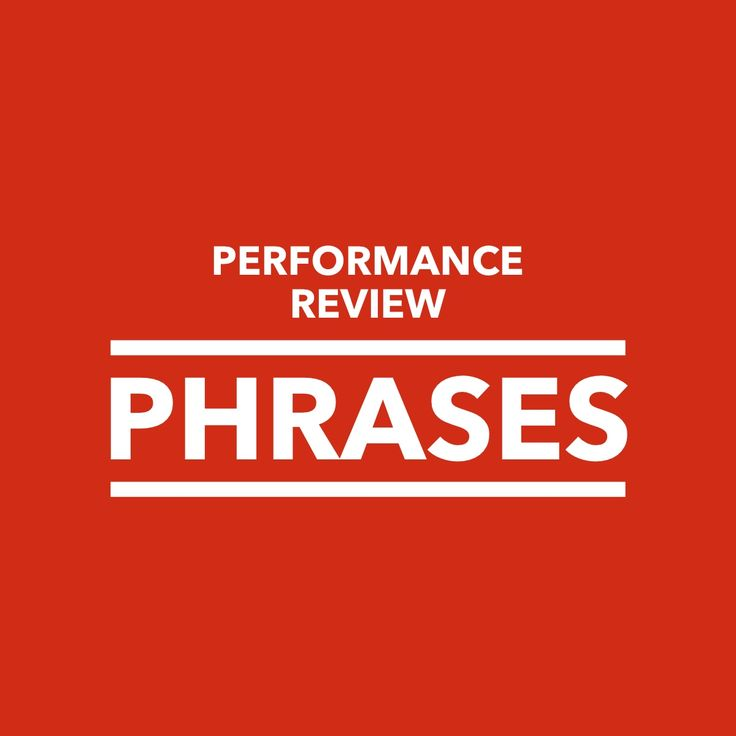 8 Best Performance Evaluation Images On Pinterest