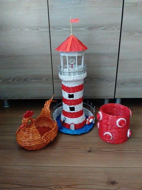 Sea tower,  hen,  bascket