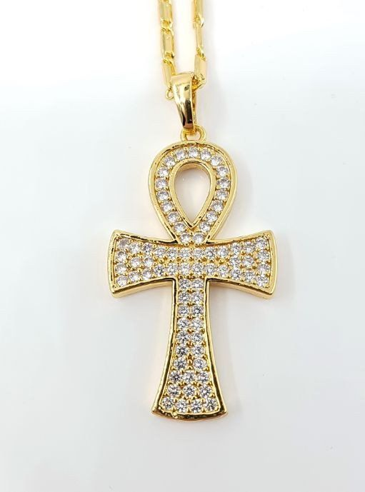 Goldkette damen kreuz  Die besten 25+ Kreuzanhänger gold Ideen auf Pinterest | Goldkette ...