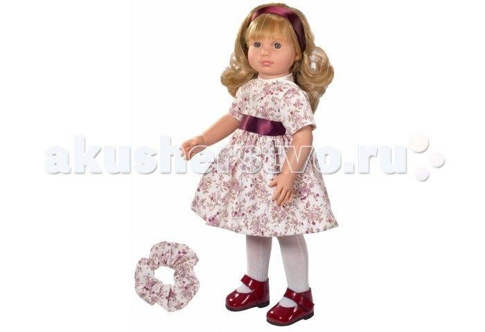 ASI Кукла Нелли 40 см 253930  ASI Кукла Нелли 40 см 253930 - это блондинка, с роскошными локонами, в шикарном нарядном платье. Она полностью выполнена из винила самого высокого качества, устойчиво стоит на ровных ногах.  Волосы длинные, прошитые, приближены по качеству к натуральным. Куклу можно расчесывать и менять ей прически, дизайнеры позаботились о дополнительном аксессуаре в виде резинки для волос. Ресницы у куклы тоже как настоящие: длинные и пушистые. У куклы длинные ровные ноги…