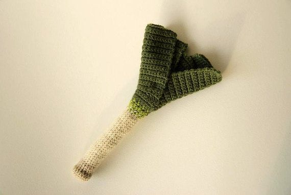I bet you have always wanted to crochet a leek?! This is a pattern by VliegendeHollander, $3,99