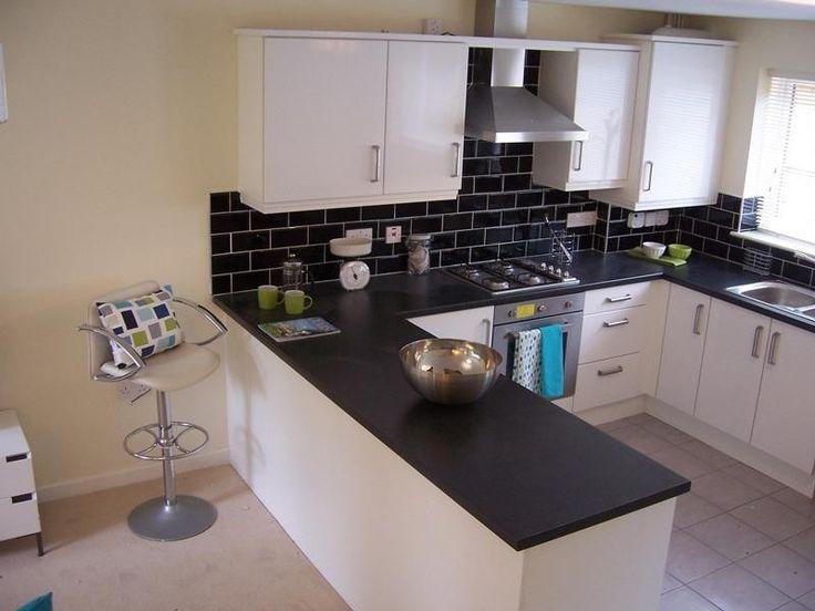 Kitchen Tiles Black Worktop 34 best uploads klanten images on pinterest | bathrooms, kitchen