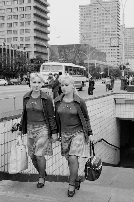 USSR. Russia. Moscow. July 1980.  Raymond Depardon
