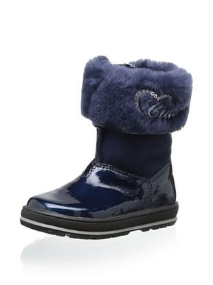 85% OFF Ciao Bimbi Kid's Sheepskin Cuffed Boot (Multi)