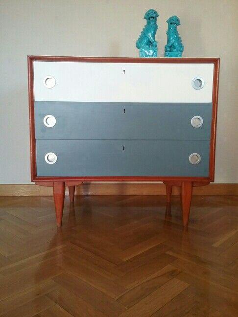 Cómoda Francia años 60 Restaurada Retor diseño  nórdico