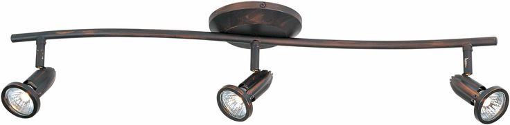 "ET2 E30013-10 3 Light 27"" Wide Flush Mount Ceiling Light From The Agron Collecti Bronze Indoor Lighting Ceiling Fixtures Flush Mount"