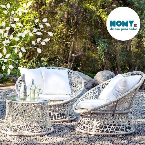#Terraza #Homy #deco #white