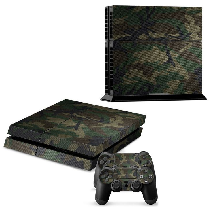 MILITARY CAMO DESIGN Sony PS4 Console Skin Kit   #assassinscreed #manga #marvel #ps4 #dogs #cinema #onepiece #bleach #harrypotter #fashion