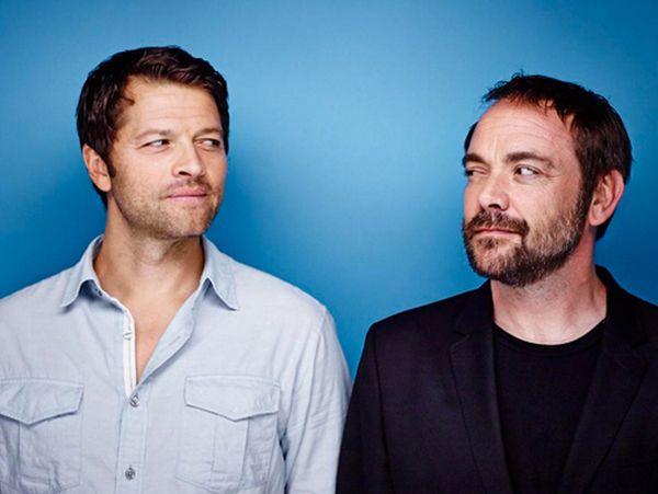 Misha and Mark @SDCC 2014