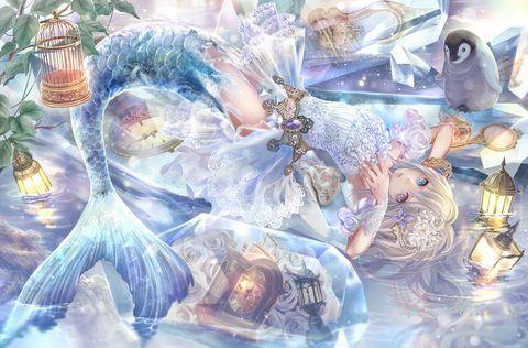 pixiv Spotlight - 【童話】人魚姫