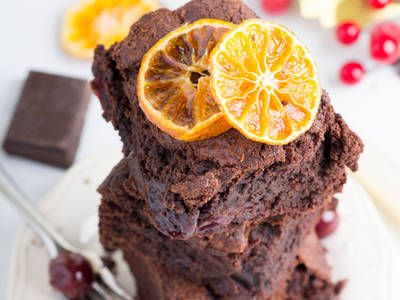 Make your homemade brownies better with this red wine spiked brownie recipe.