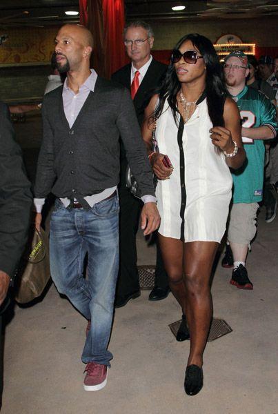 Serena Williams and Common