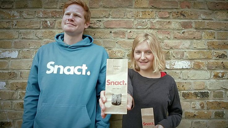 Tonnes of perfectly good fruit get thrown away in the UK before reaching shops. At Snact they turn that surplus into healthy snacts that contribute to one of your five a day.