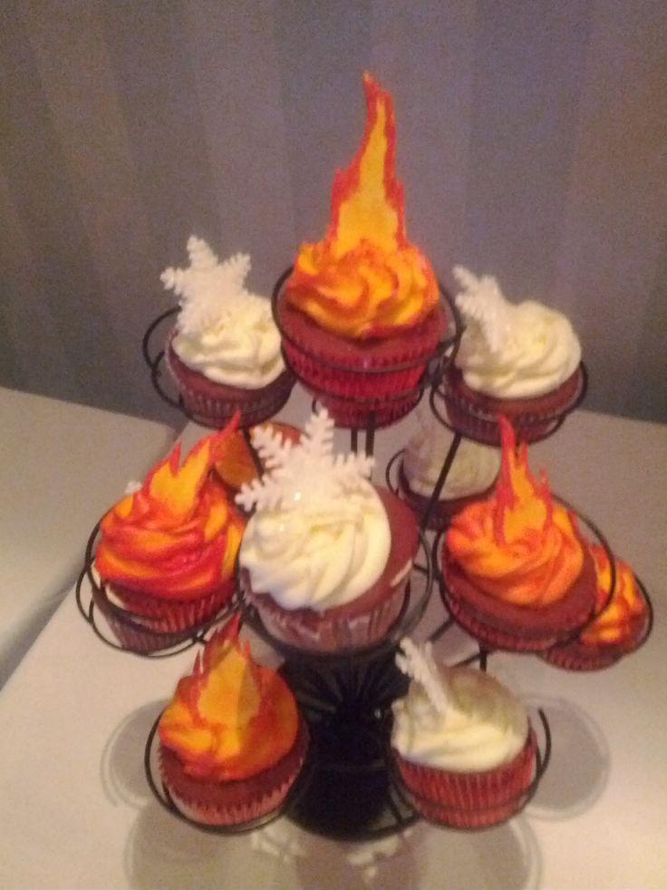 Fire & Ice. - Cake Decorating Community - Cakes We Bake
