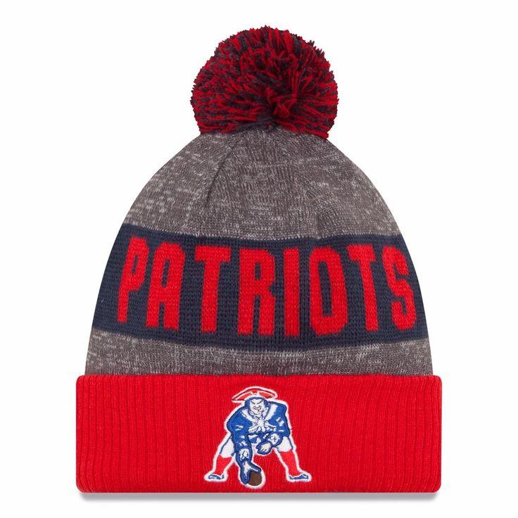 New England Patriots Tom Brady On-Field New Era Throwback Knit Winter Hat #NewEra #NewEnglandPatriots