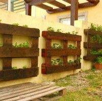 fotos e ideas para hacer muebles con palts de madera