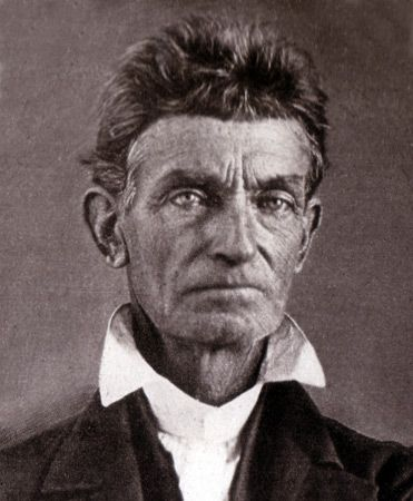 """October 16, 1859:  Abolitionist John Brown leads 18 men in an attack on the Harpers Ferry armory.  The raid to seize the weapons failed and Brown was captured, tried, and hung.  At his trial, Brown said:  """"Now, if it is deemed necessary that I should forfeit my life for the furtherance of the ends of justice, and mingle my blood...with the blood of millions in this slave country whose rights are disregarded by wicked, cruel, and unjust enactments, I submit; so let it be done!"""""""