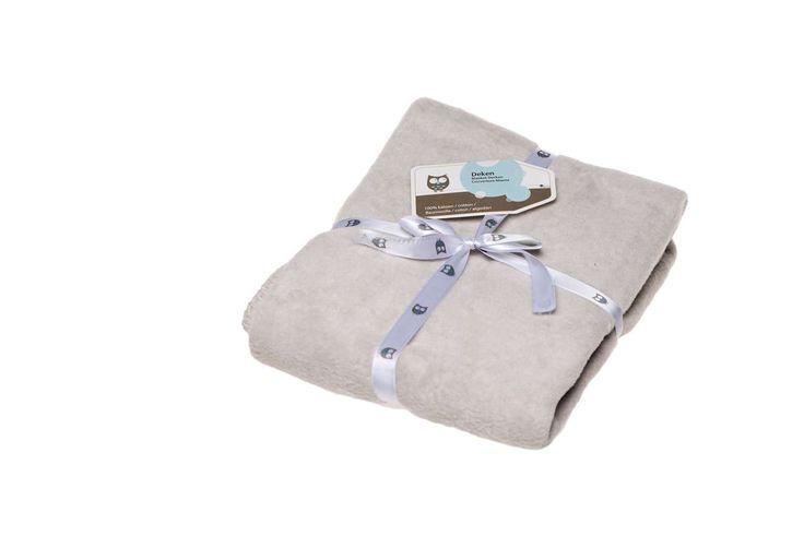 Mooie dikke dekens van 100% katoen, verkrijgbaar in de kleuren roze, jade, pebble, grijs, hemel en antraciet