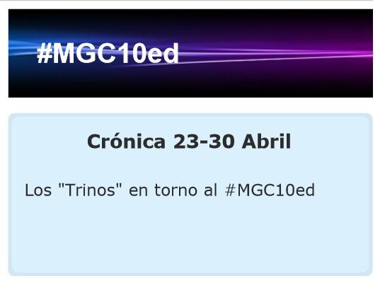 """Los """"Trinos"""" del 23 al 30 de abril"""