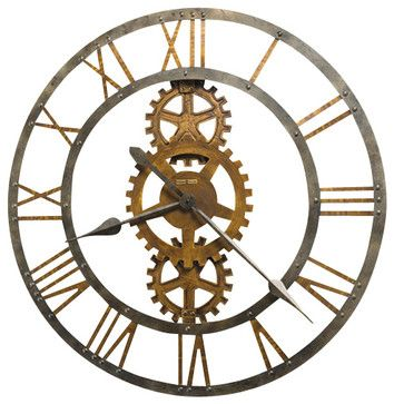 "Howard Miller 30"" Large Wall Clock 