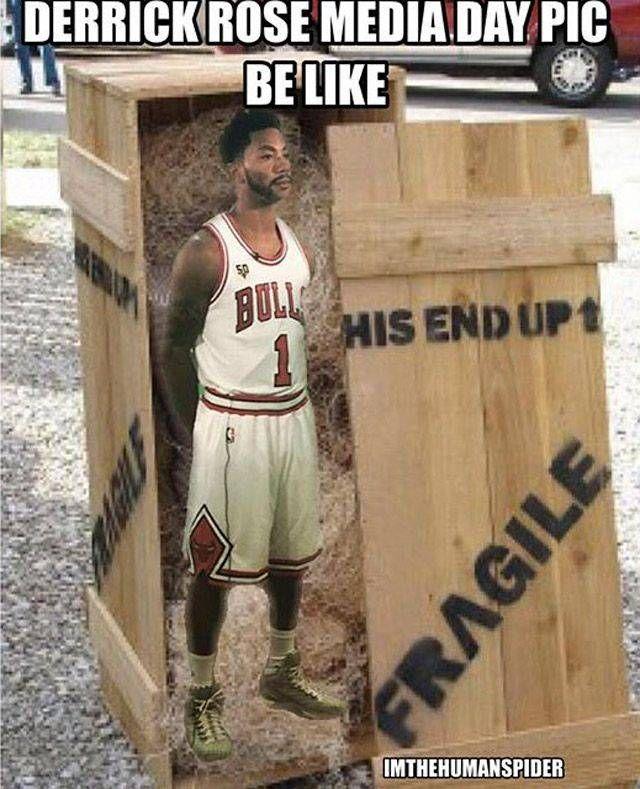 Derrick Rose Memes