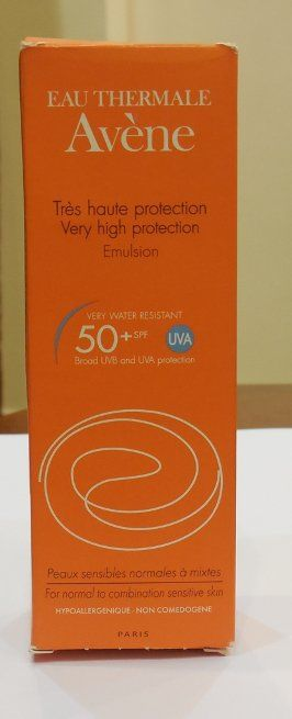 #Avene #Eau #Thermale #Very #High #Protection #Emulsion #SPF #50+ #review #price and details on the blog