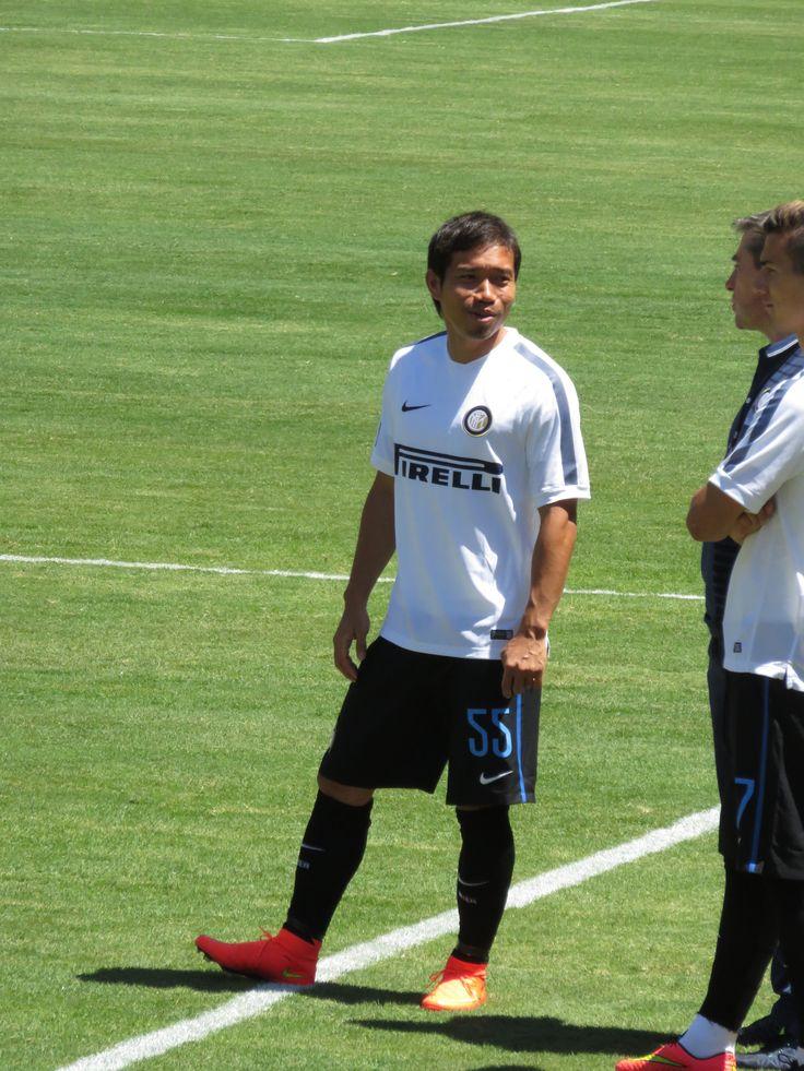 Yuto Nagatomo (長友 佑都) at International Champions Cup on July 26, 2014.