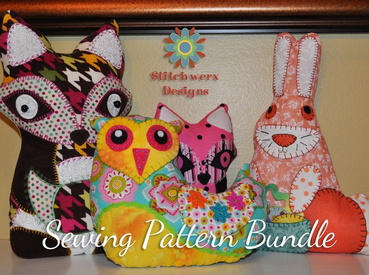 Animal Pillow Patterns To Sew : 75 best images about animal pillow on Pinterest Butterfly cushion, Elephant pillow and Dog pillows