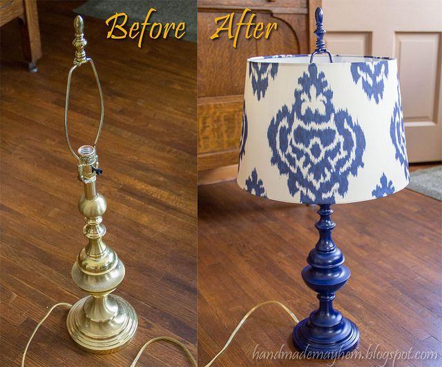 Lamp Revamp by handmademayhem,