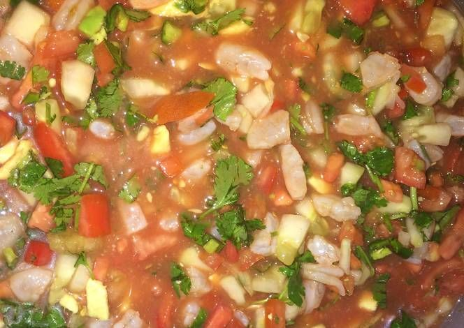 Mexican-Style Shrimp Ceviche recipe.