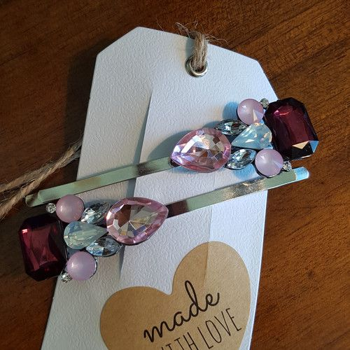 'Winner Takes All' set of Extra Large Hairclips' www.madewithlovebybee.com