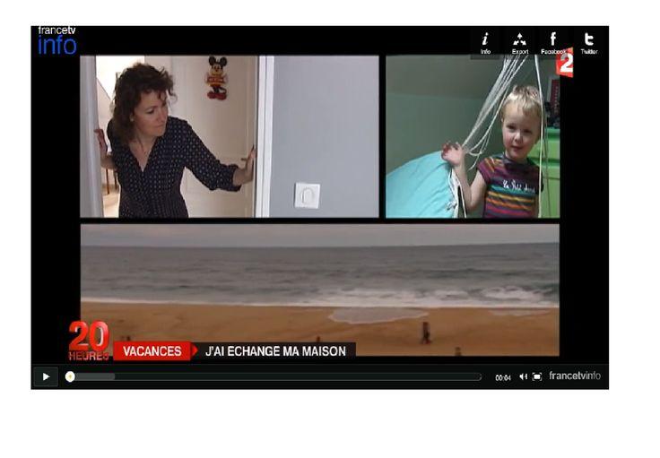 Fle des champs: A2-B1 - Un reportage - Préparez vos vacances : échangez vos maisons !