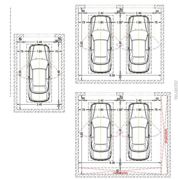7 Best Garage Dimensions Images On Pinterest Parking Lot Garage