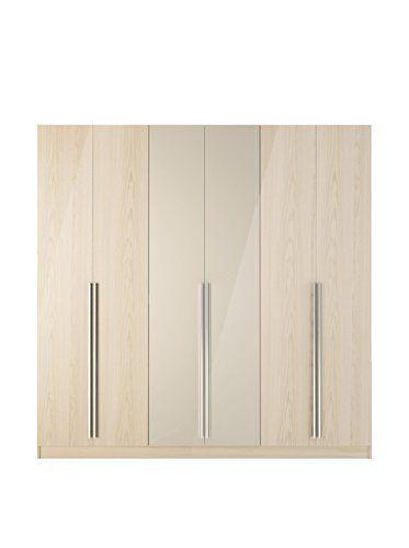 4 Drawer Eldridge 6 Door Wardrobe in Oak Vanilla & Nude/Pro-Touch/Metallic Nude   Home & Garden, Household Supplies & Cleaning, Home Organization   eBay!