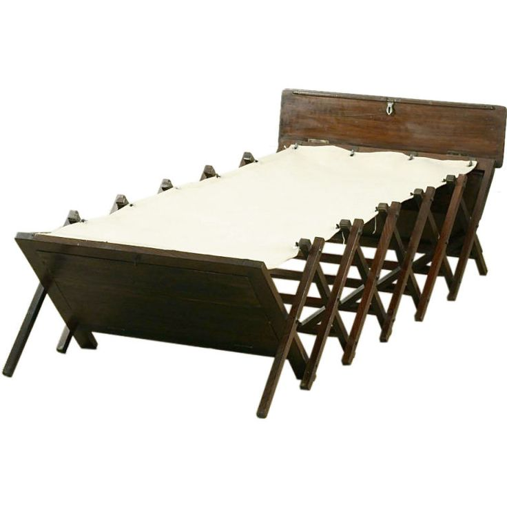 British Campaign Folding Bed