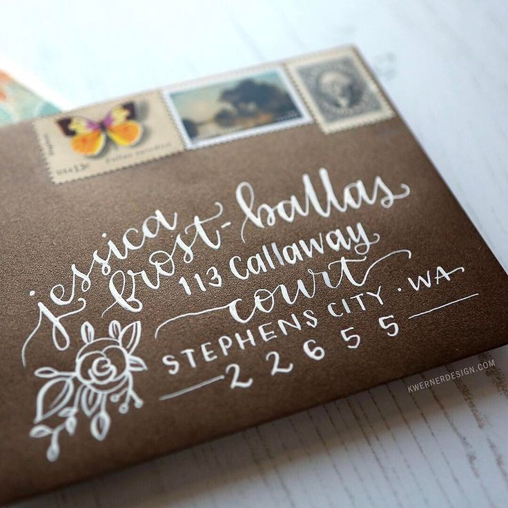 For this week's Letter Tuesday video I wanted to use calligraphy and a pointed pen to address a couple envelopes. Head to my blog and YouTube channel to see this envelope (plus another one too). #kwdesignlettertuesday #calligraphy #envelope @jessicafrostballas