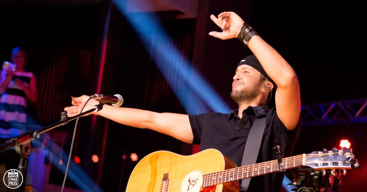 """See Luke Bryan perform """"Kick the Dust Up"""" for his fan club in an exclusive acoustic AXE Stage Pass performance"""