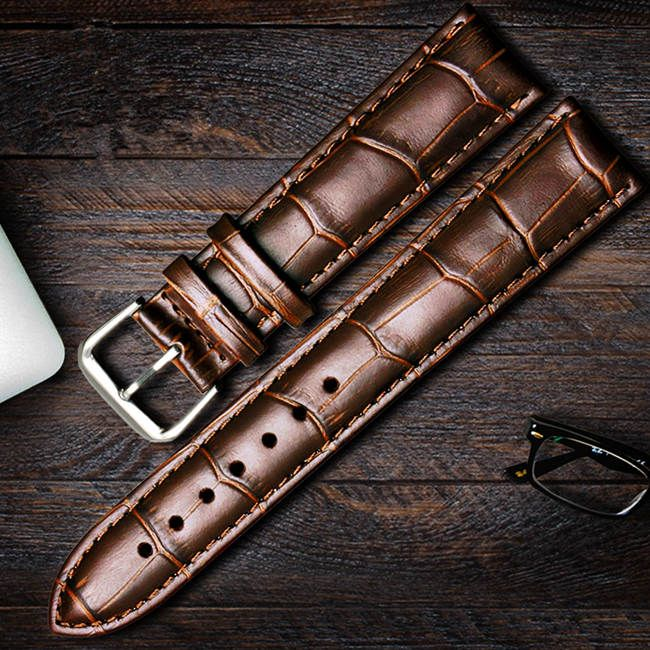 Alligator Leather Straps for Omega Watch
