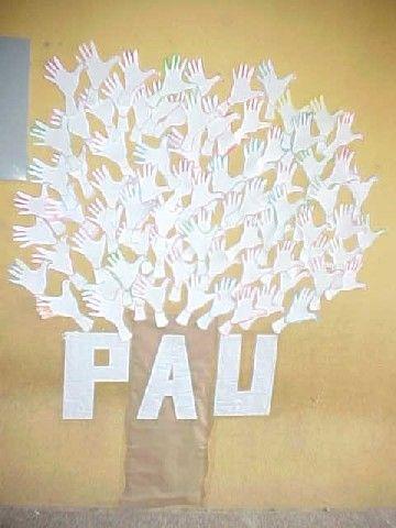 Mural dia de la pau