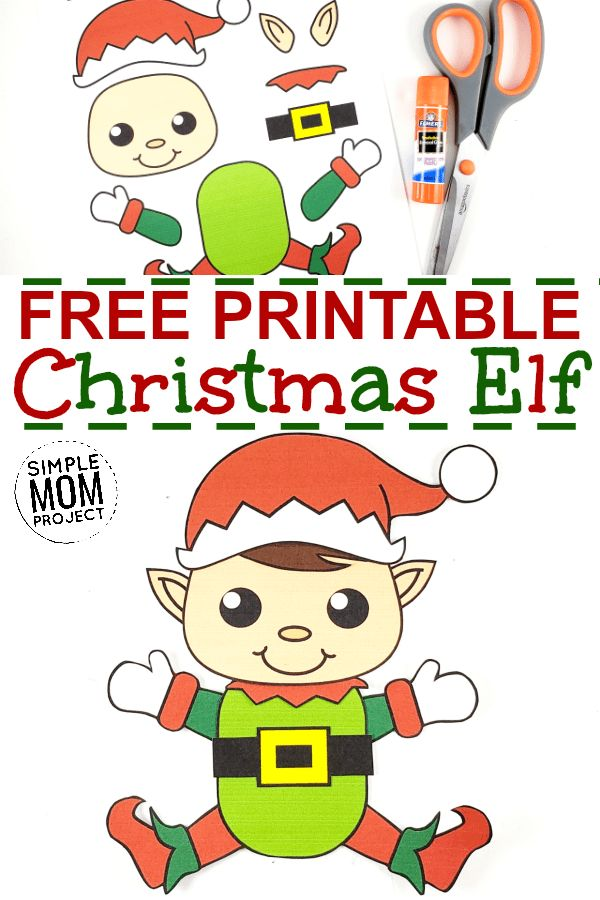 Easy to Make Santa Claus Craft with Free Templates in 2020 ...