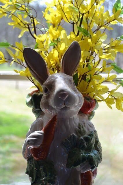 Vaso de coelhinho. #easterbunny #coelhodepáscoa #easter #páscoa #vaso