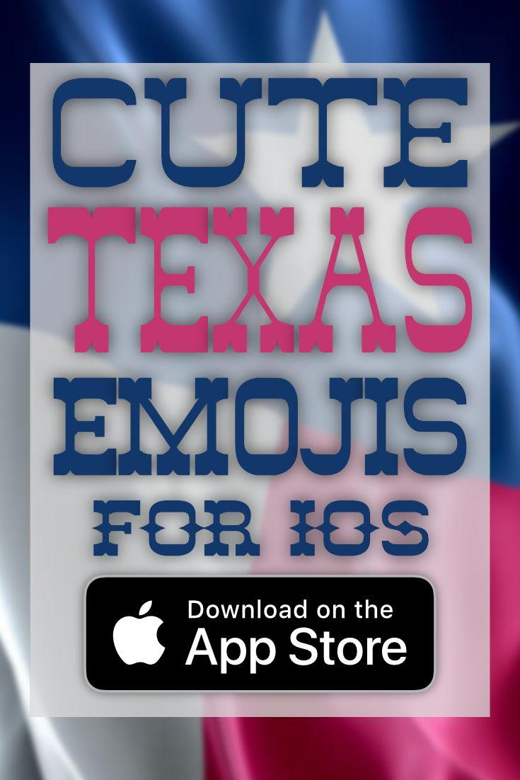 Sweet! Teas emojis for ios #texas #cute #app #ios #emoji