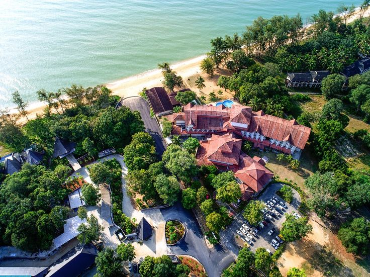 Amazed view from the top of our resort that located in Cherating !!!