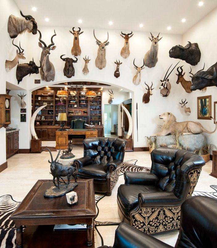 520 best trophy rooms images on pinterest trophy rooms for Trophy room design